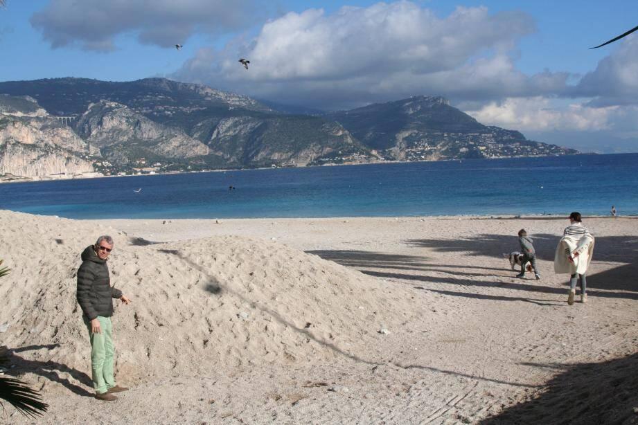 La fréquentation de la plage toujours propre reste forte, la météo y contribue pour beaucoup!