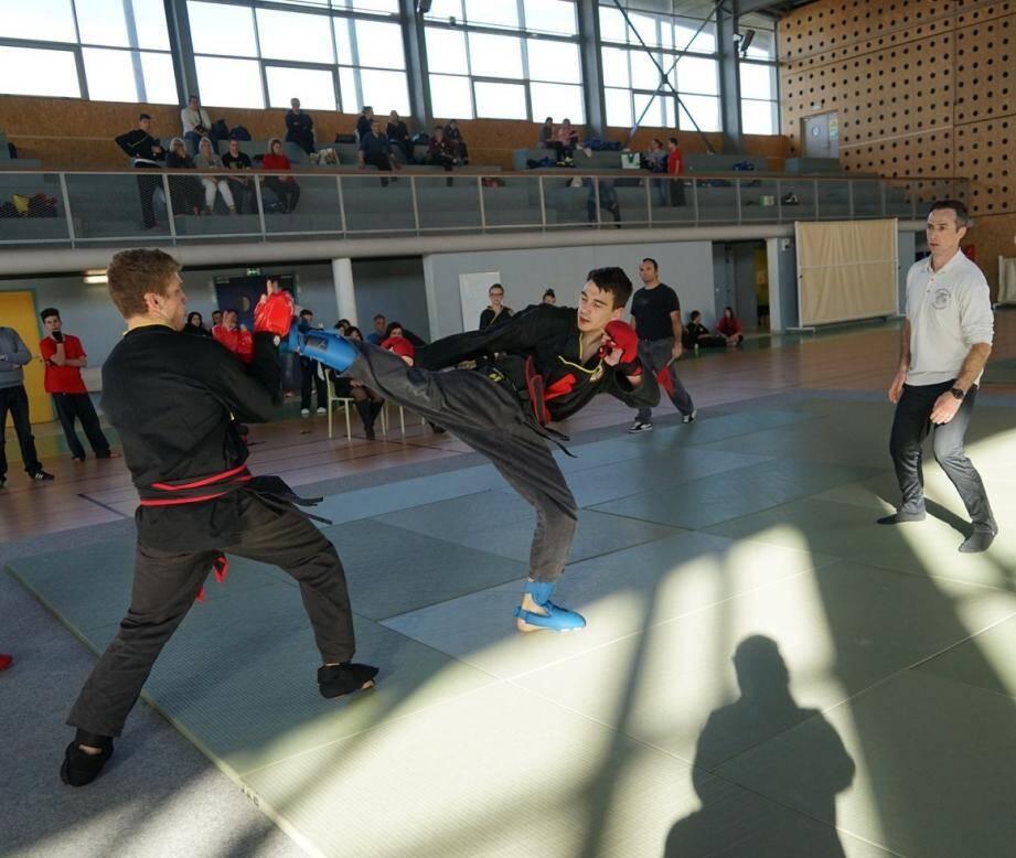 Les spectateurs ont pu assister à des duels sans concession.