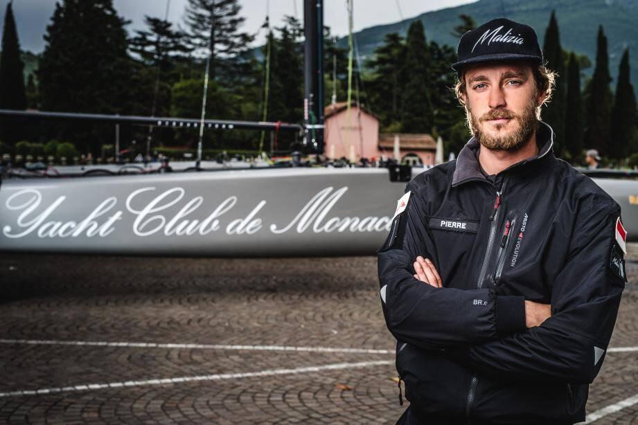 Pierre Casiraghi, fils de la princesse Caroline et vice-président du Yacht-Club de Monaco, veut relever un nouveau défi.