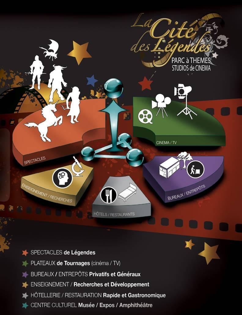 La présentation du parc d'attractions sur son site Internet.(Repro DR)