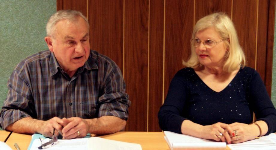 Le maire, Michel Calmet, et la 1re adjointe ont obtenu l'approbation de financement de l'avant-projet « 3 en 1 »...