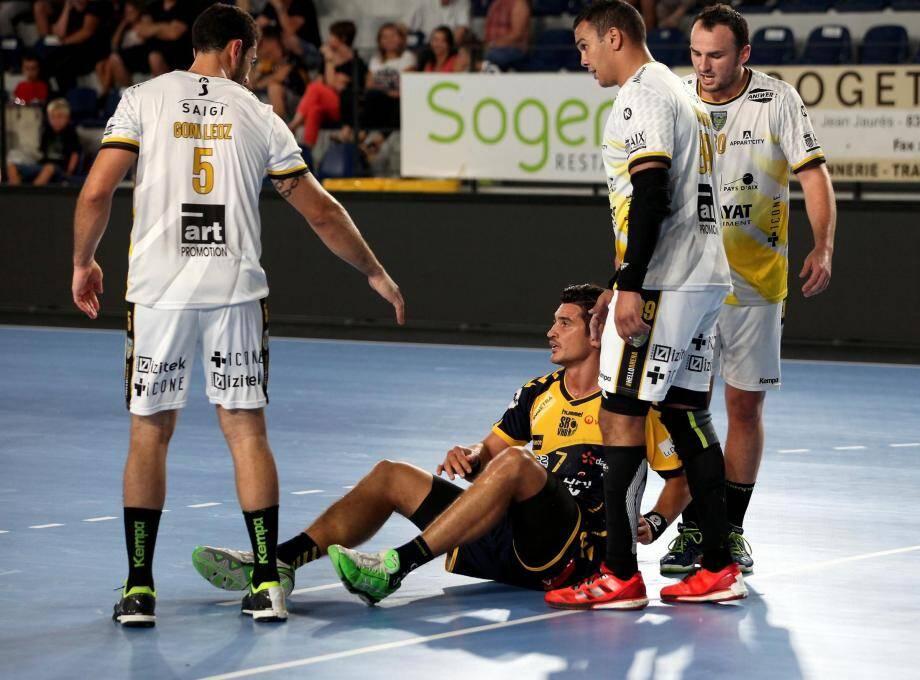 Les coéquipiers d'Alexandru Simicu ont beaucoup souffert pour s'imposer sur le fil face à Aix.