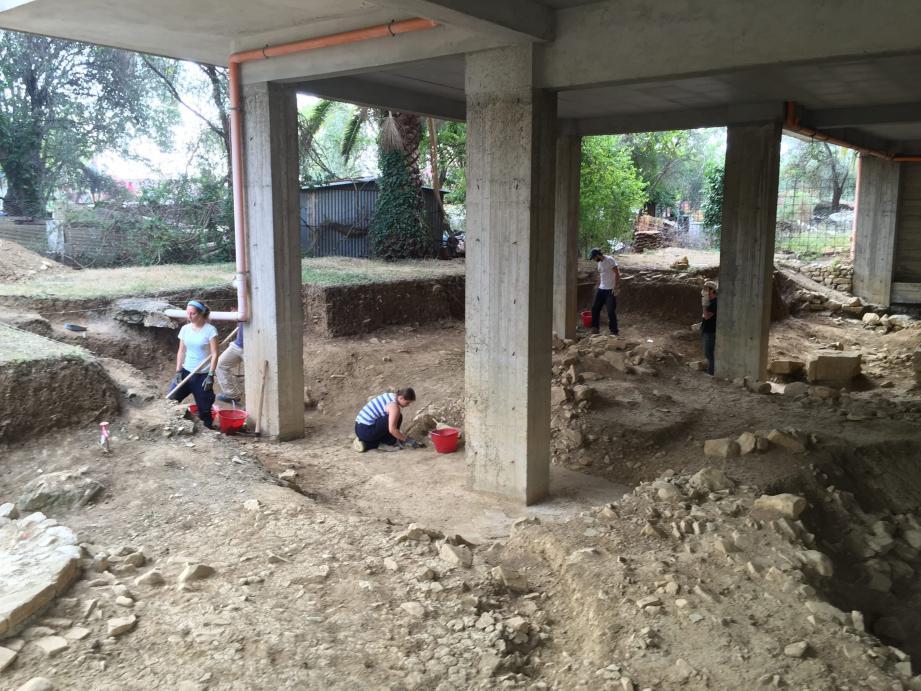 Le maire de San-Bartolomeo al Mare espère des financements européens pour aider à ce chantier de fouilles.