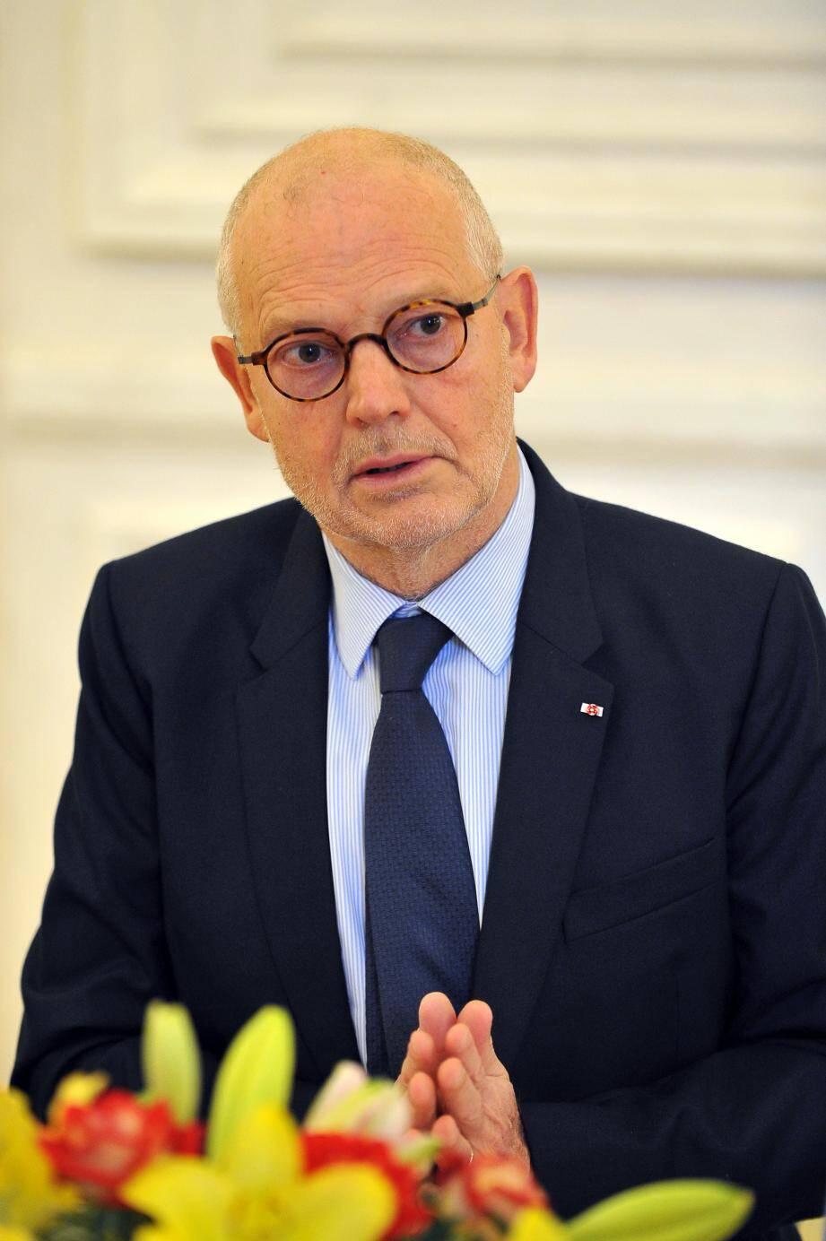 Le Yersin, lors de son escale à Monaco le 8 juin 2015.