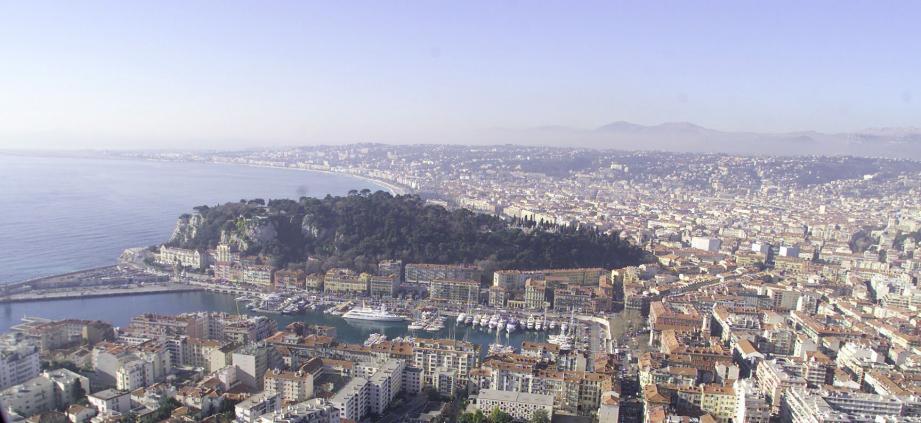 Vue générale de Nice.