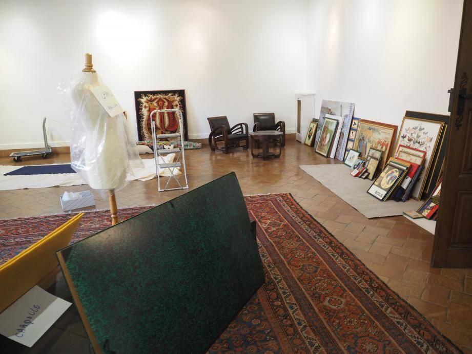 Avant d'être dispatchés, tous les objets et mobiliers de la demeure Sellier ont été photographiés et inventoriés.