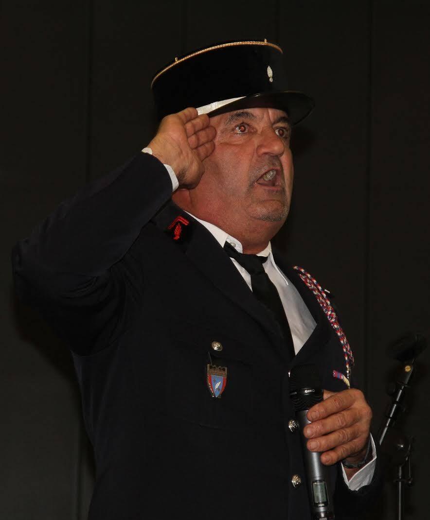 Jean-Paul Maric, le président de l'Amicale des pompiers.