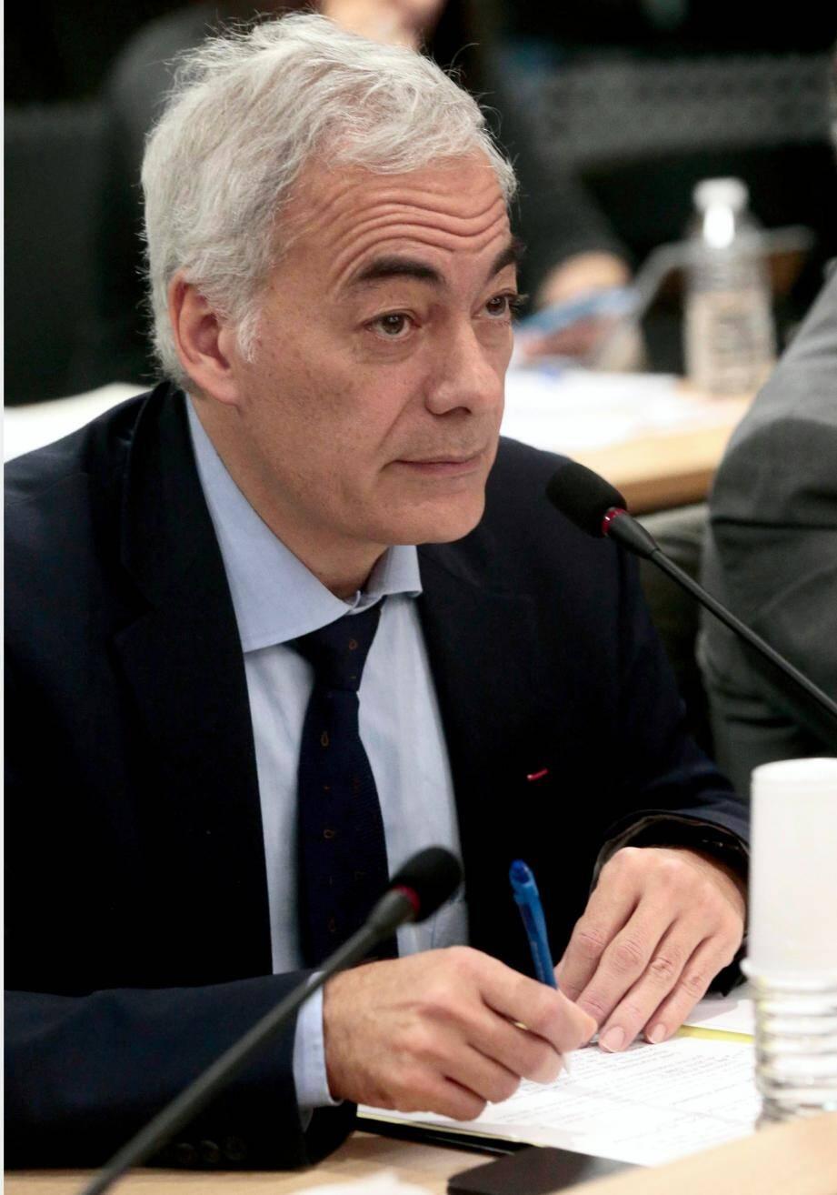 Patrick Allemand, chef de file de l'opposition PS au conseil métropolitain.