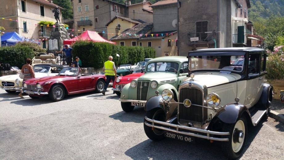 Chaque année, l'association « RB Classic Car » met les bouchées doubles au mois d'août pour rassembler 150 voitures de collection à Fontan.