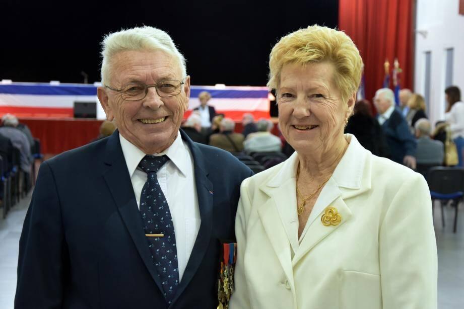 Bernard et Monique Boulanger, un couple phare du tissu associatif local.