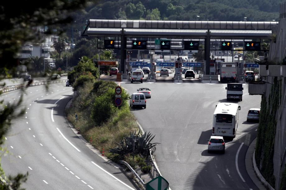 L'accident a eu lieu quelques kilomètres après le péage d'Antibes, le 27 octobre 1997.