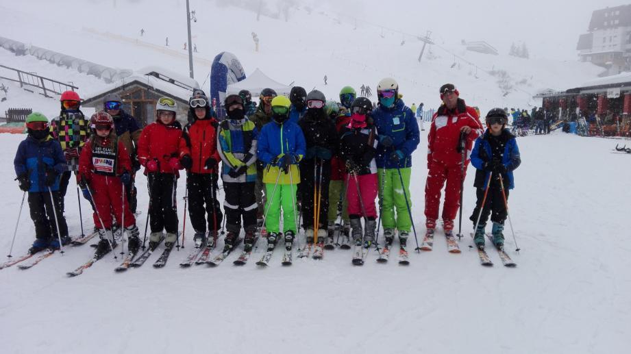Le ski club laurentin s'éclate dans la neige fraîche d'Italie.