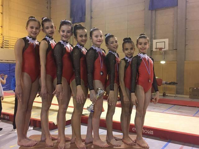 L'équipe des jeunes gymnastes de l'Étoile de Monaco a remporté le titre régional avec une large avance sur les suivants.