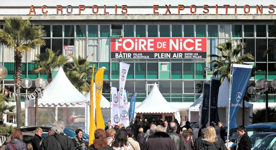 La Foire de Nice se tient du 4 au 13 mars 2017.