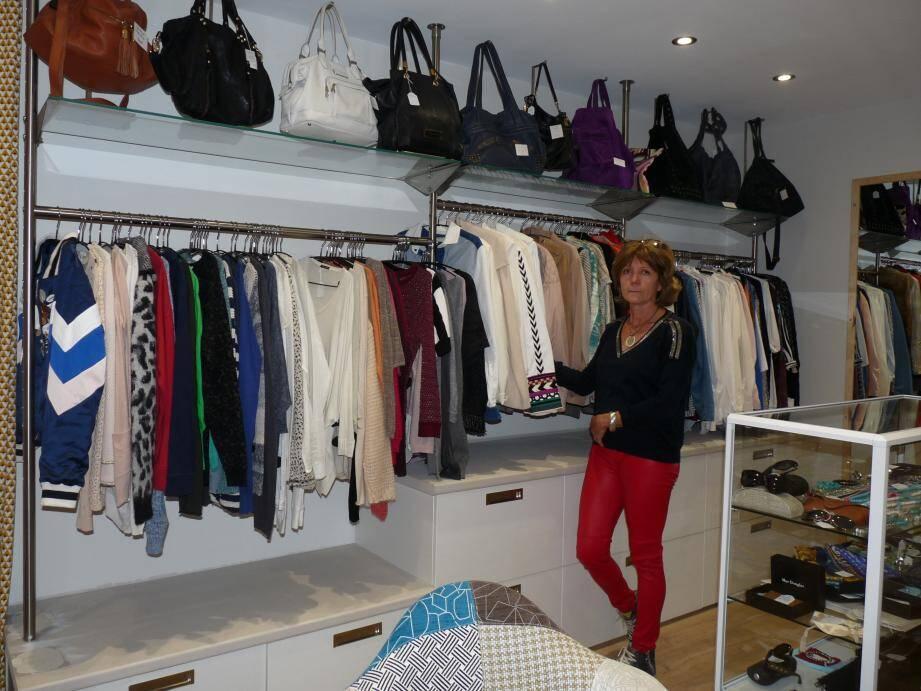 Installée au 8 rue de Pomet, Florence Keller est très sélective sur les produits de marque déposés à la vente.