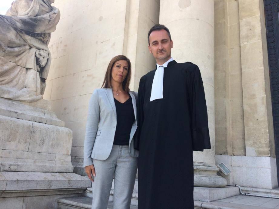 Sandra Torres, élue d'opposition à La Seyne, était défendue par Me Frédéric Casanova.