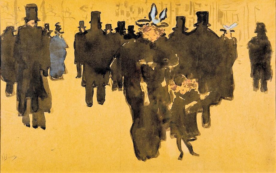 Les Grands Boulevards de Pierre Bonnard.