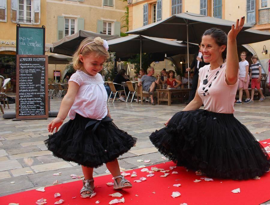 Rosanna Loggia et Christophe étoré se sont unis avant de faire la fête avec tous les Valbonnais.