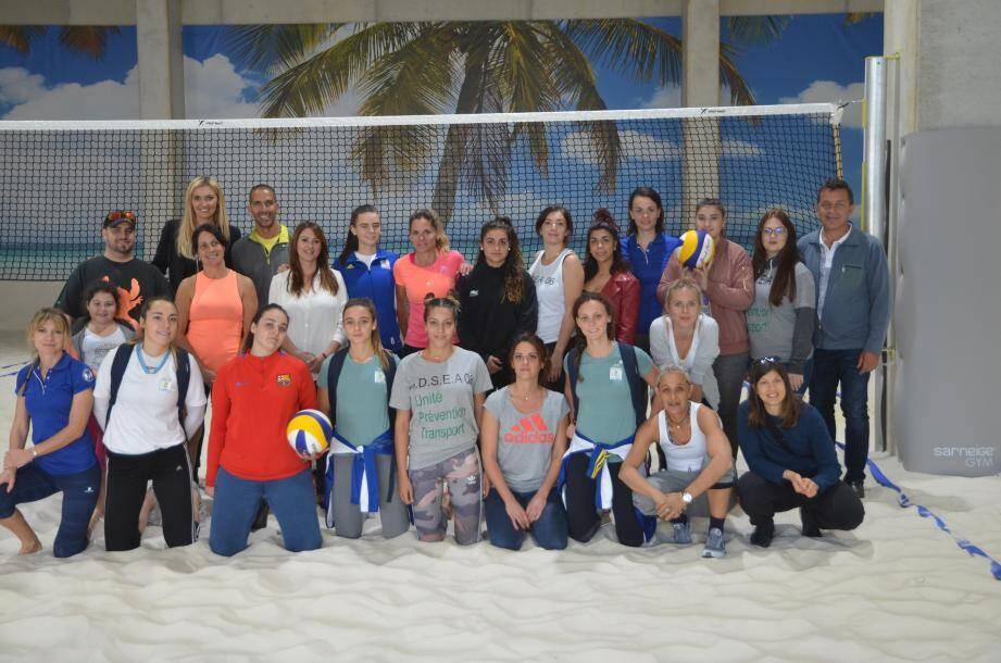 Une quinzaine de jeunes filles ont participé dernièrement à un tournoi de beach volley organsié par l'ADSEA.