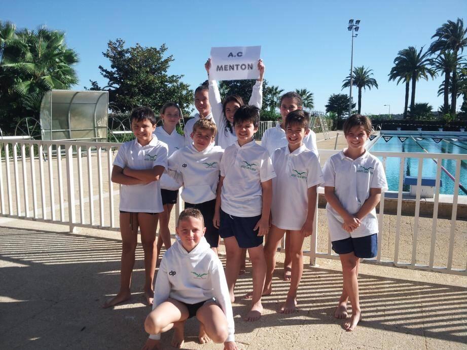 Les nageurs de l'ACM ont vécu leur première compétition de la saison. (DR)
