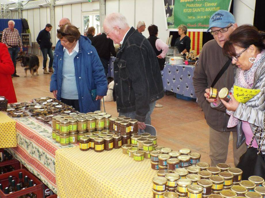 L'olive et son huile sont les produits stars du week-end.