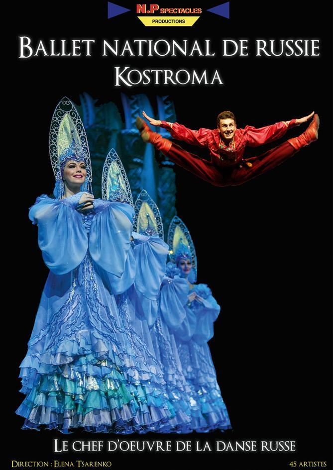 Les danseurs russes dans toute leur splendeur.(DR)