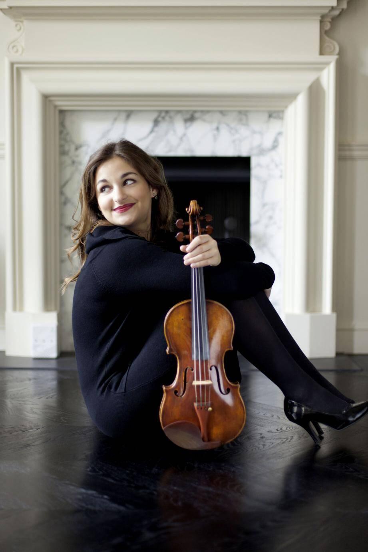 La violoniste Alexandra Soumm et Victor Julien-Lafferrière, violoncelle, premier prix du concours international Reine Élisabeth cette année.