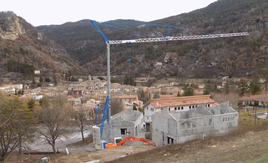 Les deux nouveaux bâtiments sont déjà sortis de terre.