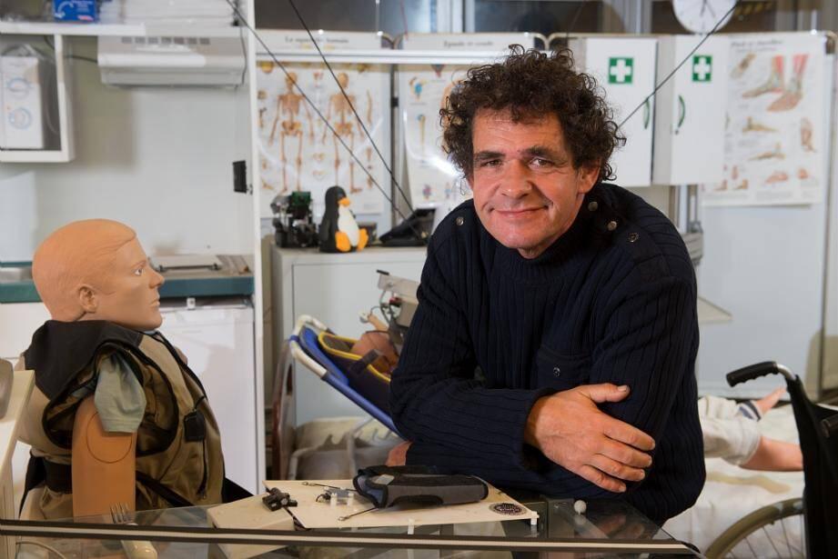 Jean-Pierre Merlet, directeur de recherche Inria responsable de l'équipe Héphaïstos.