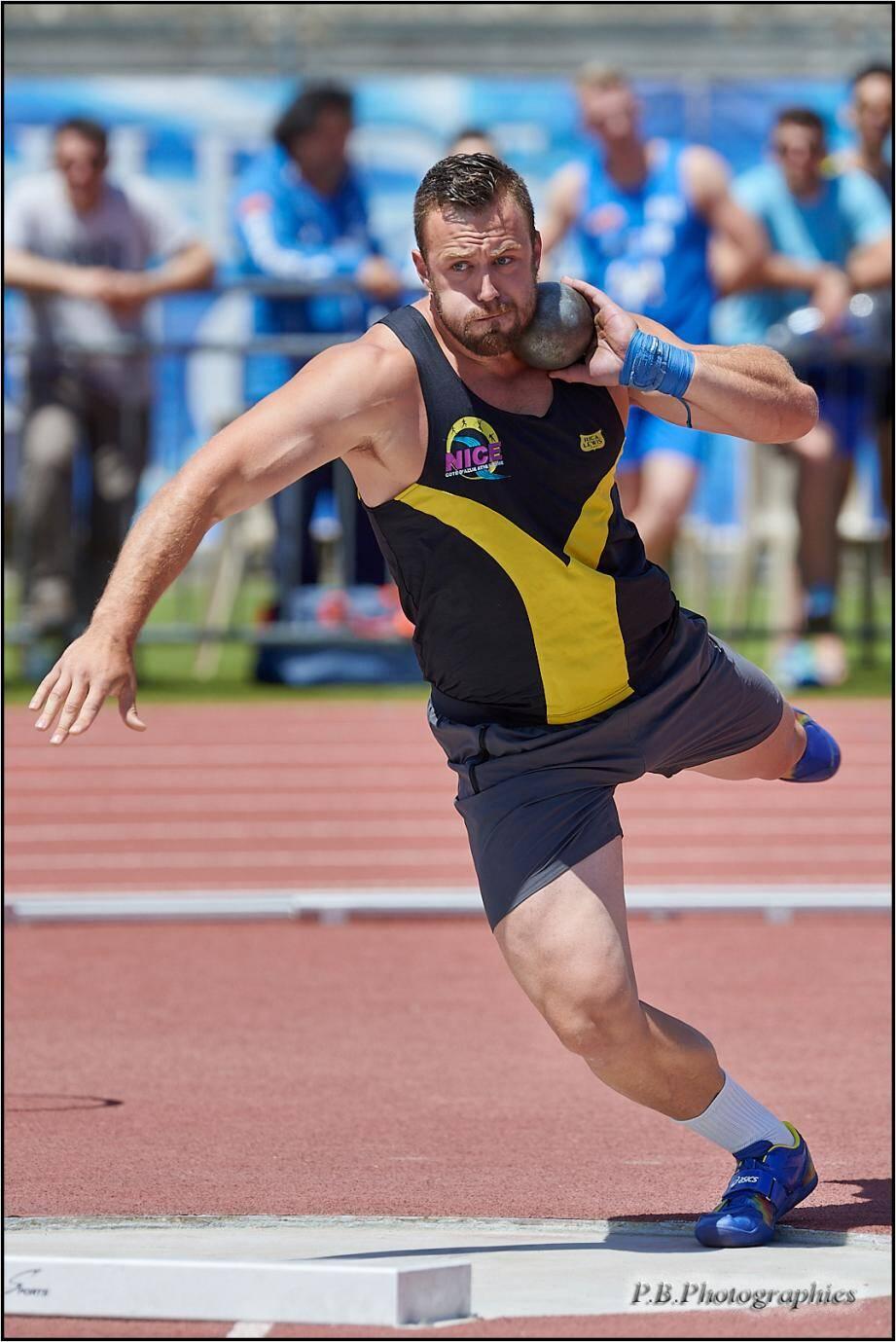 Le Niçois Frédéric Dagée a effectué une série de quatre jets à plus de 20 m, dont un nouveau record personnel à 20,36 m.
