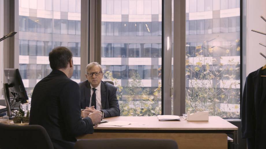 Claude Maerten, le négociateur pour l'Union européenne de l'accord avec Monaco, dans son bureau à Bruxelles.