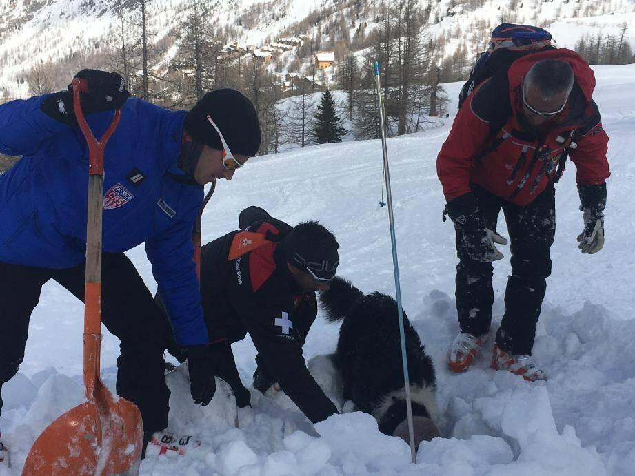 L'opération avalanche a associé différents services.