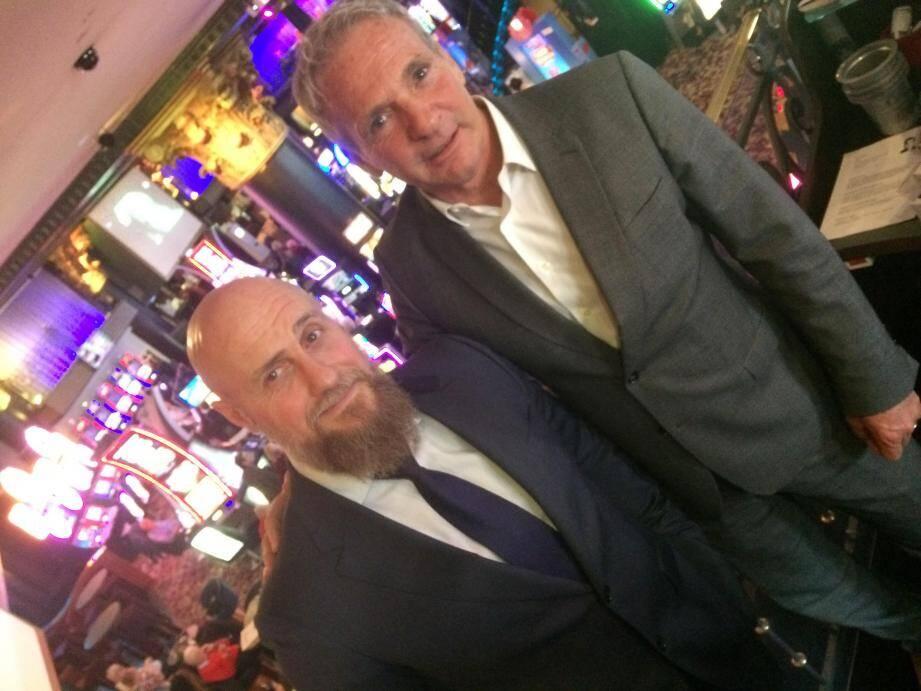 Philippe Rodriguez et Alain Fabre, le tandem gagnant du Casino Croisette.