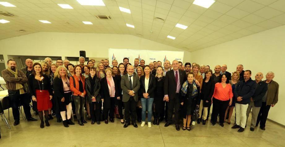 Les membres du bureau élargi de la Fédération varoise du Front National étaient rassemblés ce samedi au Luc.