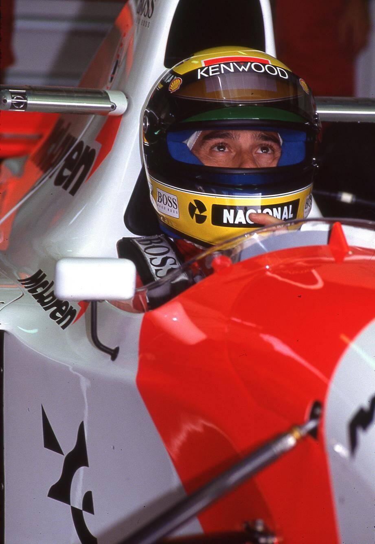 McLaren-Ford MP4/8A - Monoplace avec laquelle Ayrton Senna a remporté le Grand Prix de Monaco en 1993