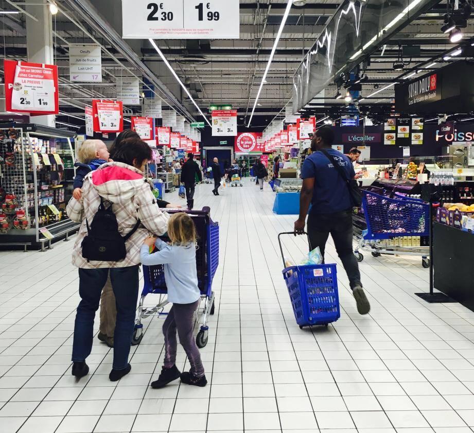 Je m'engage solennellement à ne plus mettre un pied dans un supermarché pendant un mois