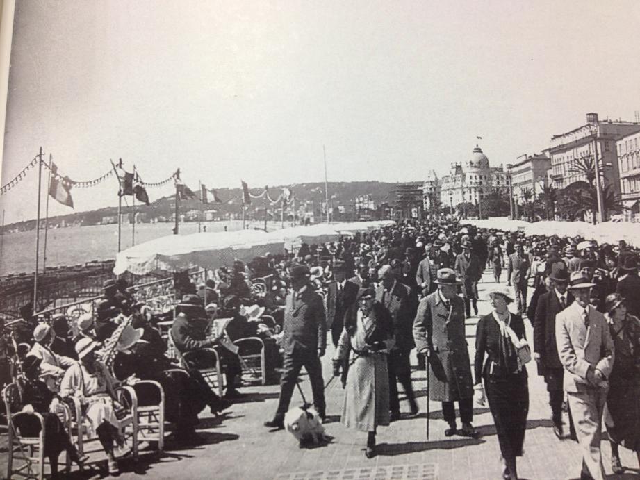 La promenade des Anglais dans les années 1930.