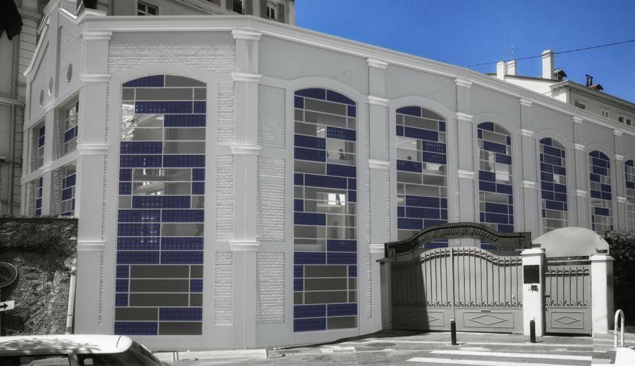 Le comptoir provençal de verre transformé en studio de cinéma d'ici à septembre 2019.