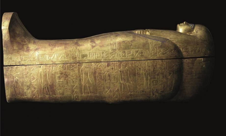L'Or des pharaons, 2500 ans d'orfèvrerie dans l'Egypte ancienne, du 7 juillet au 9 septembre, au Grimaldi Forum.