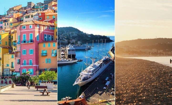 Découvrez les lieux les plus populaires de la Côte d'Azur sur Instagram