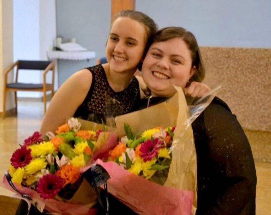 Emmanuelle et Océane proposeront un concert lyrique de qualité.