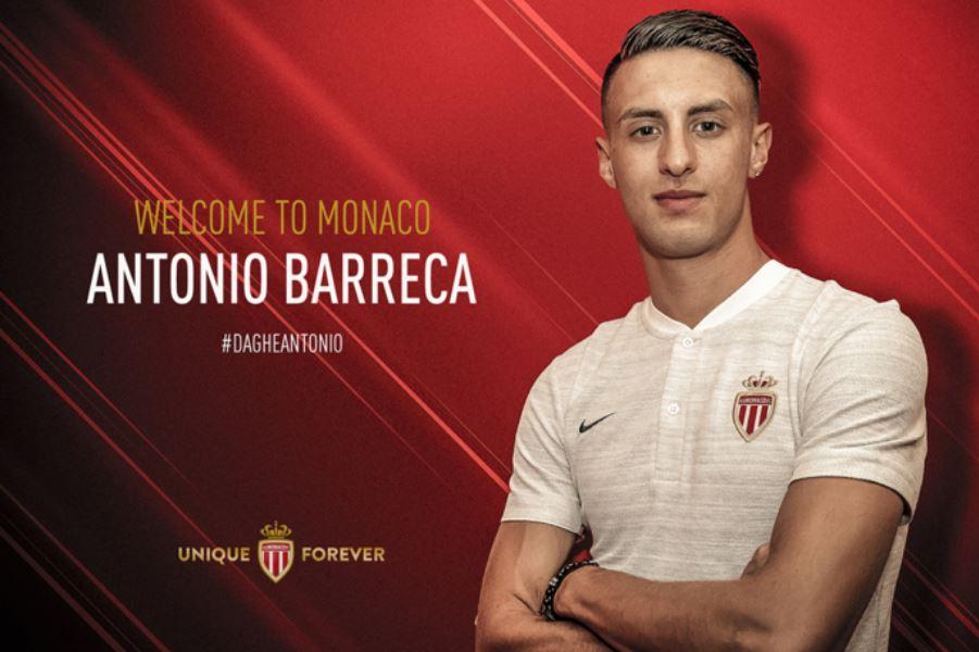Antonio Barreca s'est engagé 5 ans avec l'AS Monaco