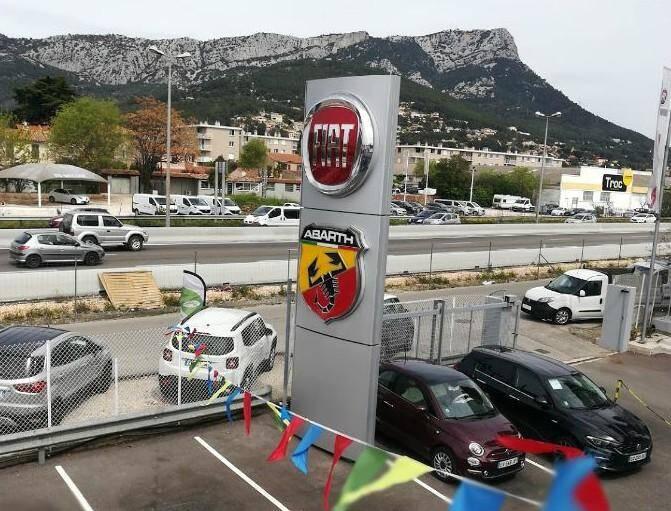 La concession Fiat Alfa Roméo à La Valette.