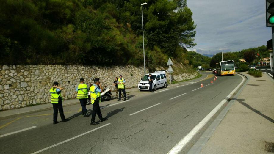 Hier, la compagnie de gendarmerie de Grasse a mené une opération coup de poing sur terre et dans les airs.