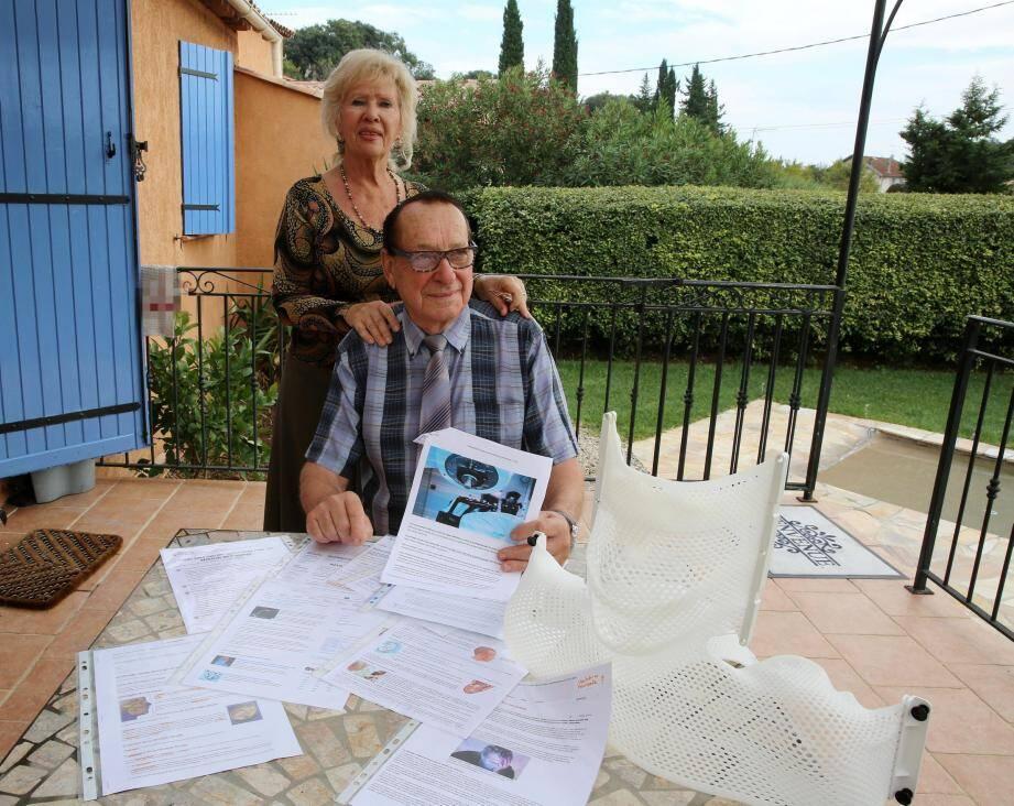 C'est au volant de son véhicule que Michel, accompagné de son épouse, regagnait son domicile varois quelques heures seulement après le traitement par radiothérapie à Monaco.