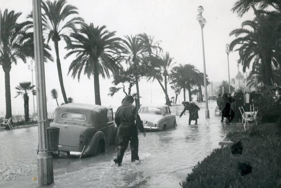 Le coup de mer du 1er décembre 1959 sur la Prom'.