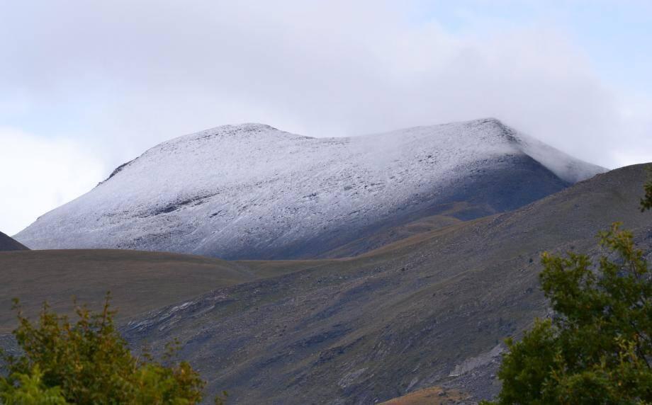 Premières neiges à Valberg.