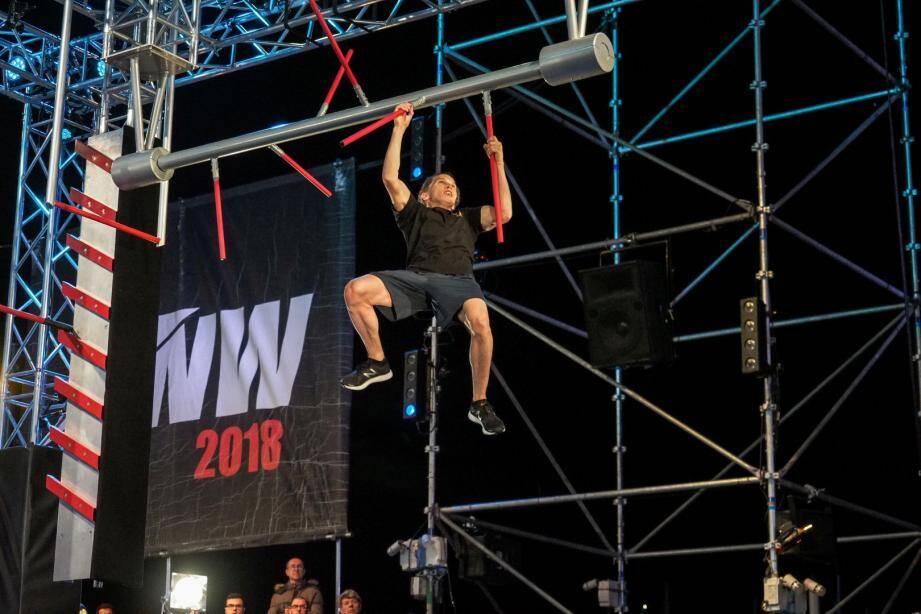 Pour quelques centimètres, Thomas Hubener a échoué en finale de Ninja Warrior 2018.