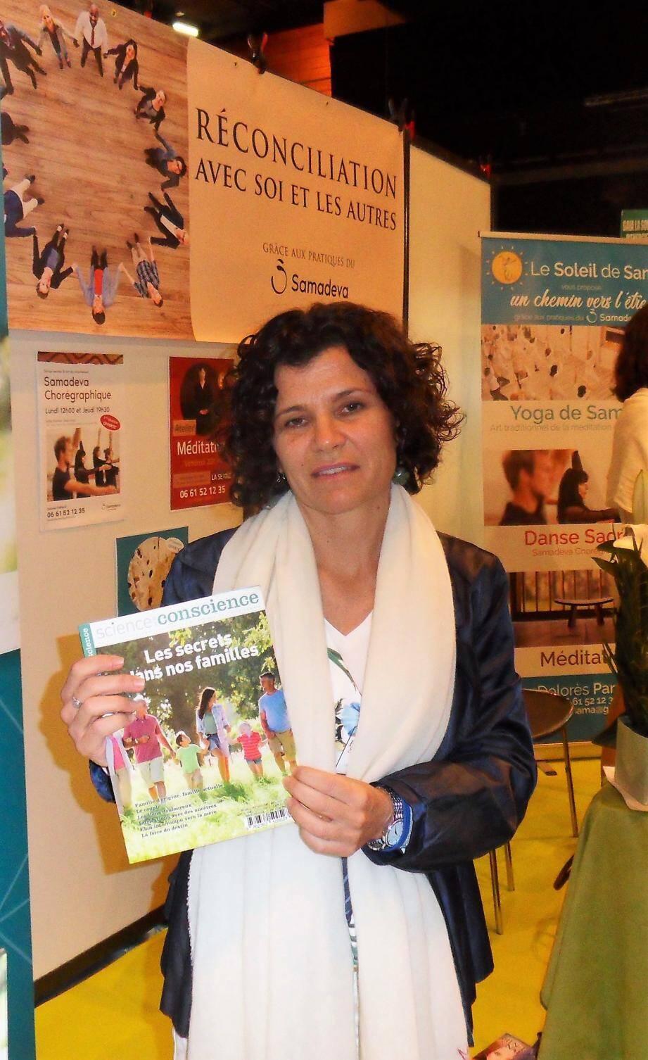 Dolores Parak propose de découvrir le Samadeva chorégraphique et le yoga de Samara.