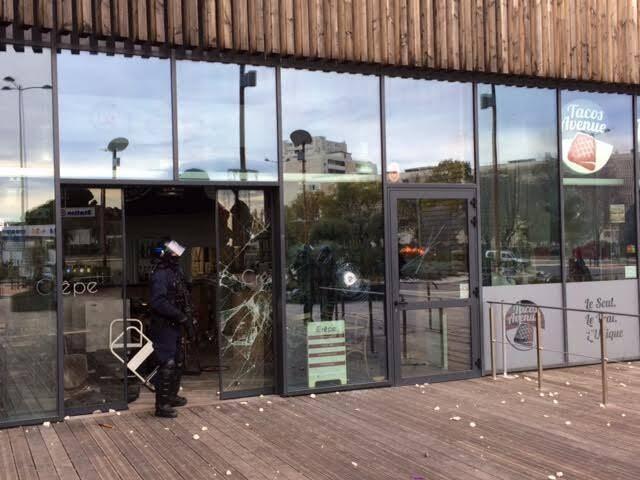 Tensions à La Seyne ce lundi après-midi